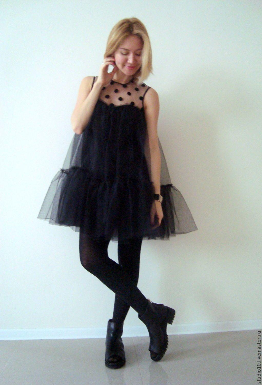 Купить или заказать Маленькое чёрное платье в интернет-магазине на Ярмарке  Мастеров. Воздушное 462558b697ebd