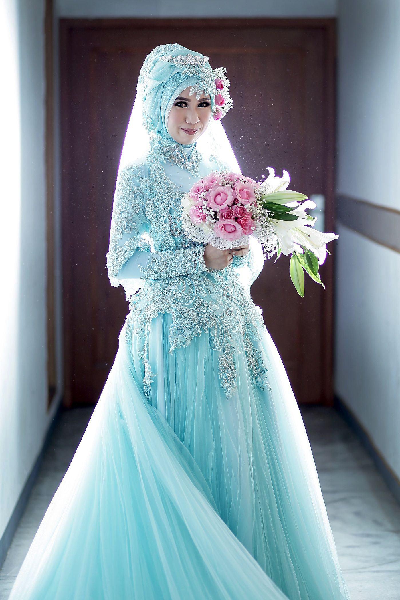 Tya Firman Wedding oleh LAKSMI - Kebaya Muslimah & Islamic Wedding ...