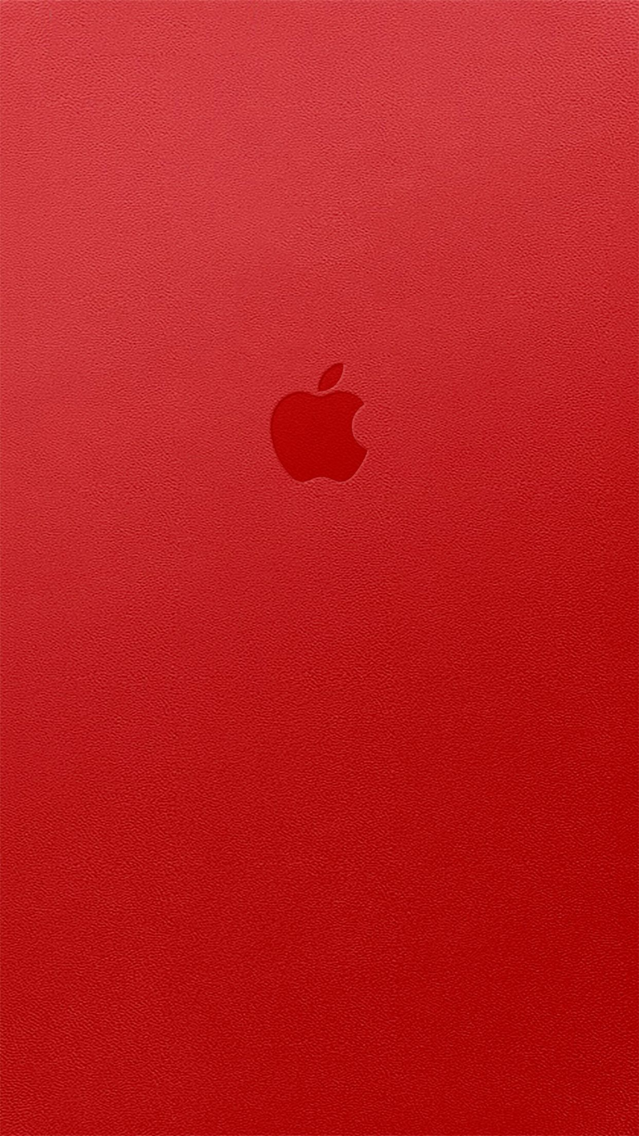 Apple iPhone 6s Plus wallpaper red Apple logo wallpaper