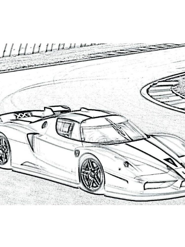 Ferrari Coloring Pages Printable Ferrari Is One Of The Manufacturers Of Supercar Cars Originating From Italy And In 2020 Cars Coloring Pages Ferrari Super Sport Cars