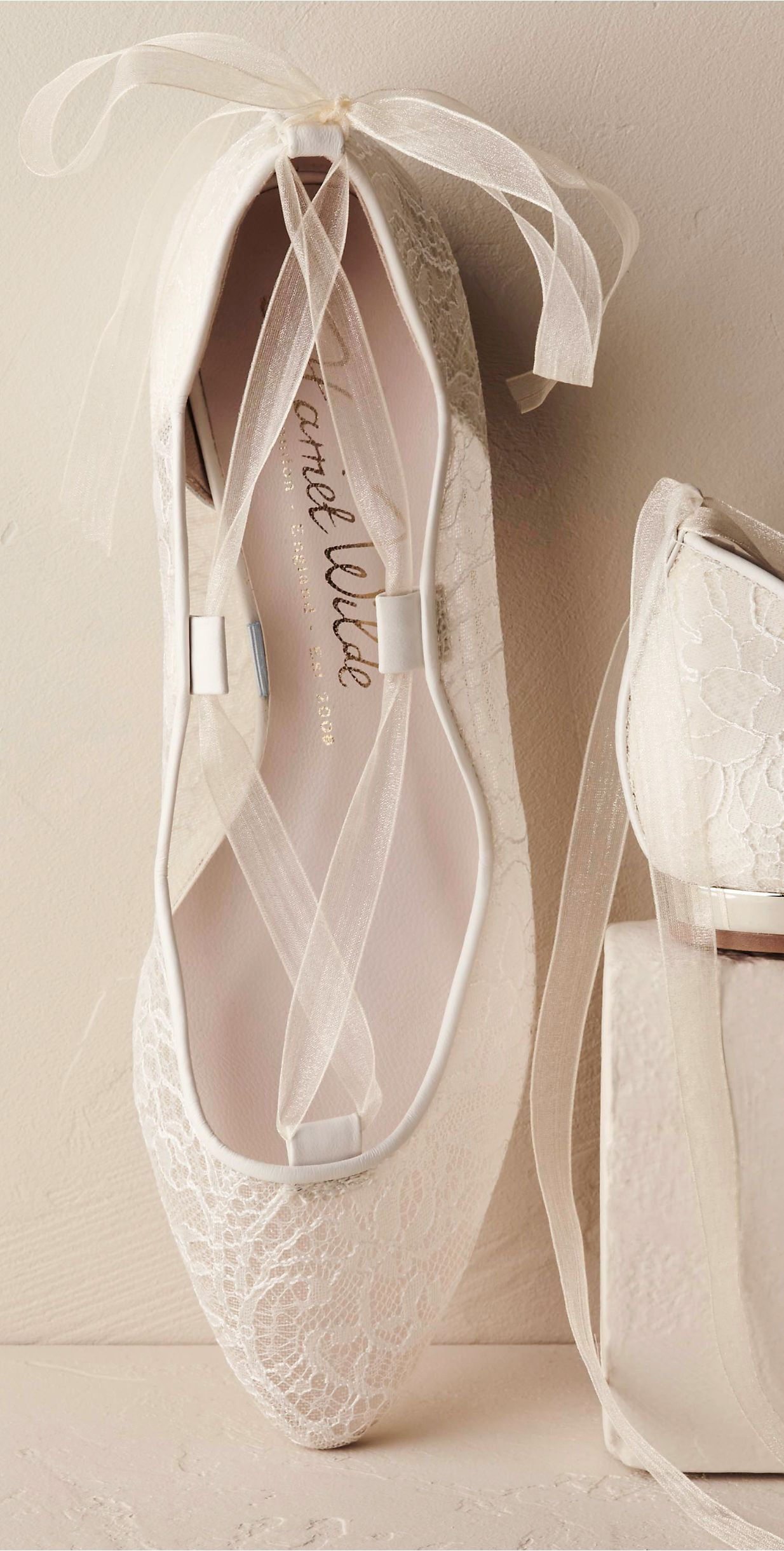 dff9830ba5c6db Gorgeous bridal flats