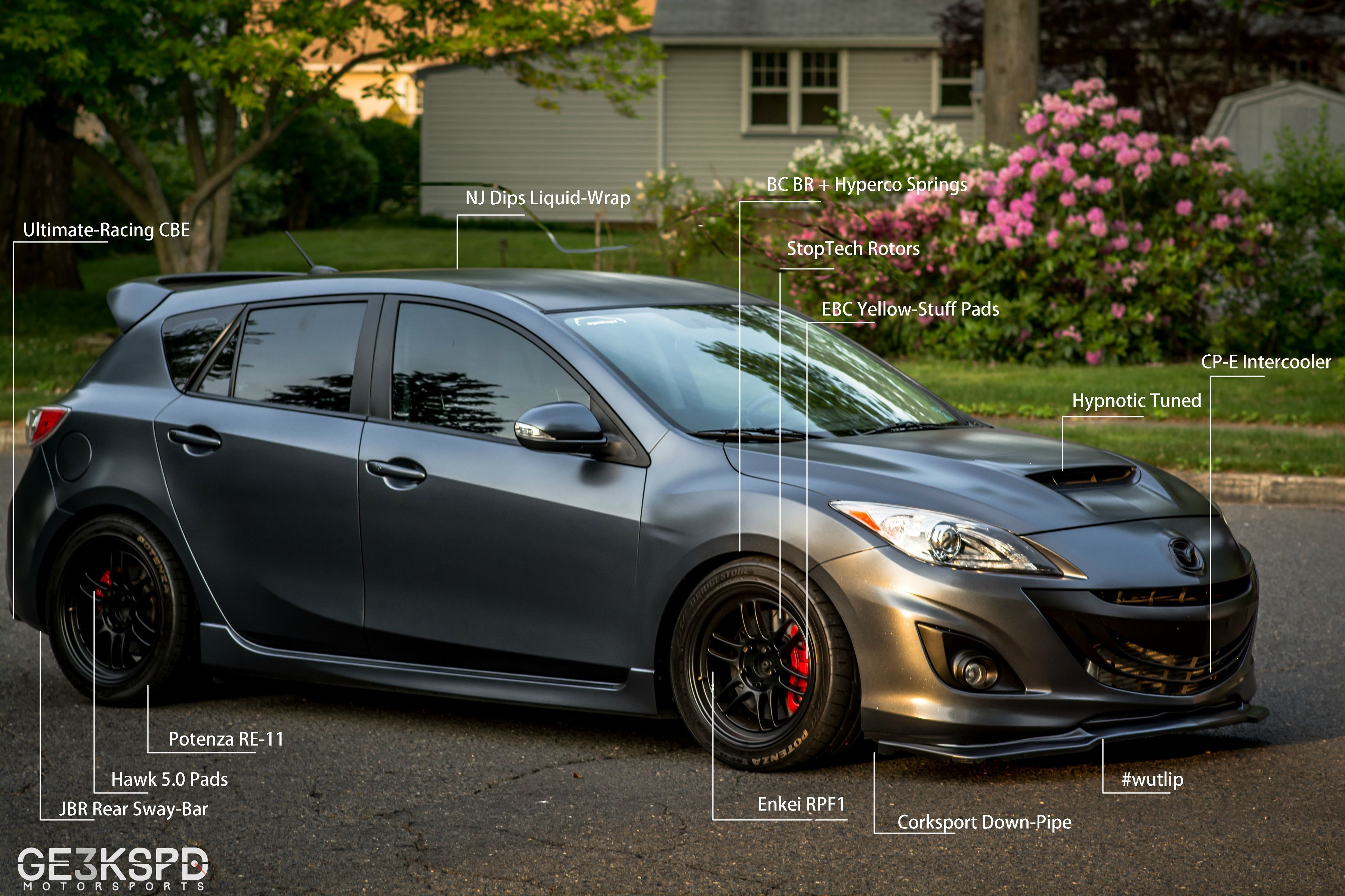 Mazda Speed 3 >> First Real Project Using Photoshop Mazda3 Mazda 3 Mazda Cars