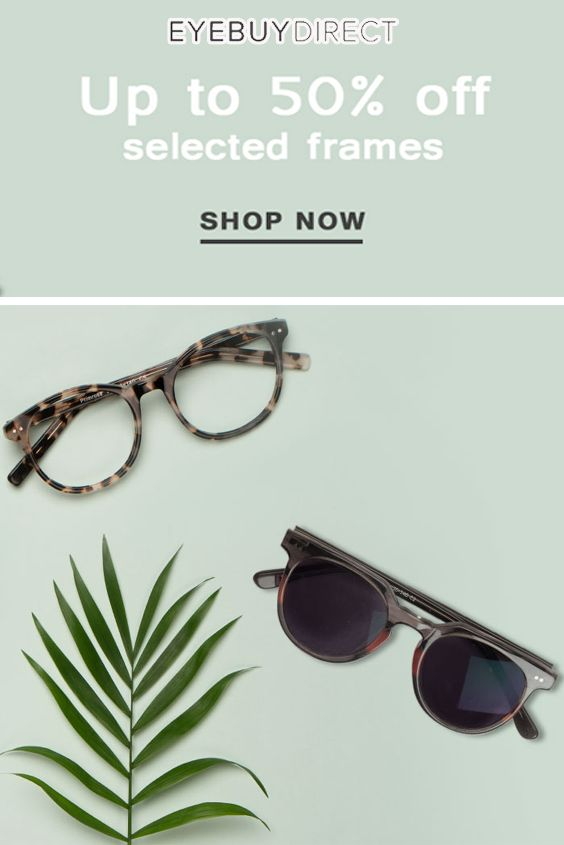 35b36497c5 EyeBuyDirect is offering Up to 50% Off on Selected Frames For More Coupon  Code Visit
