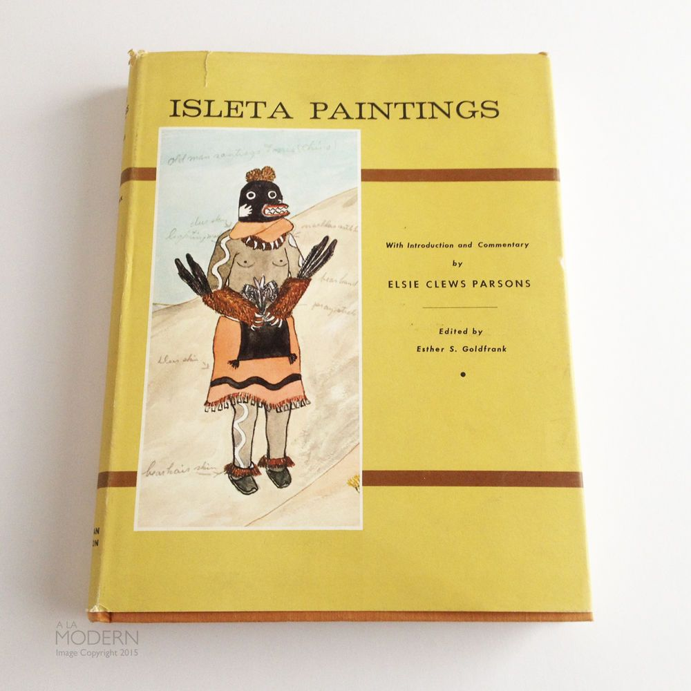 Isleta paintings 1962 hardcover smithsonian book by