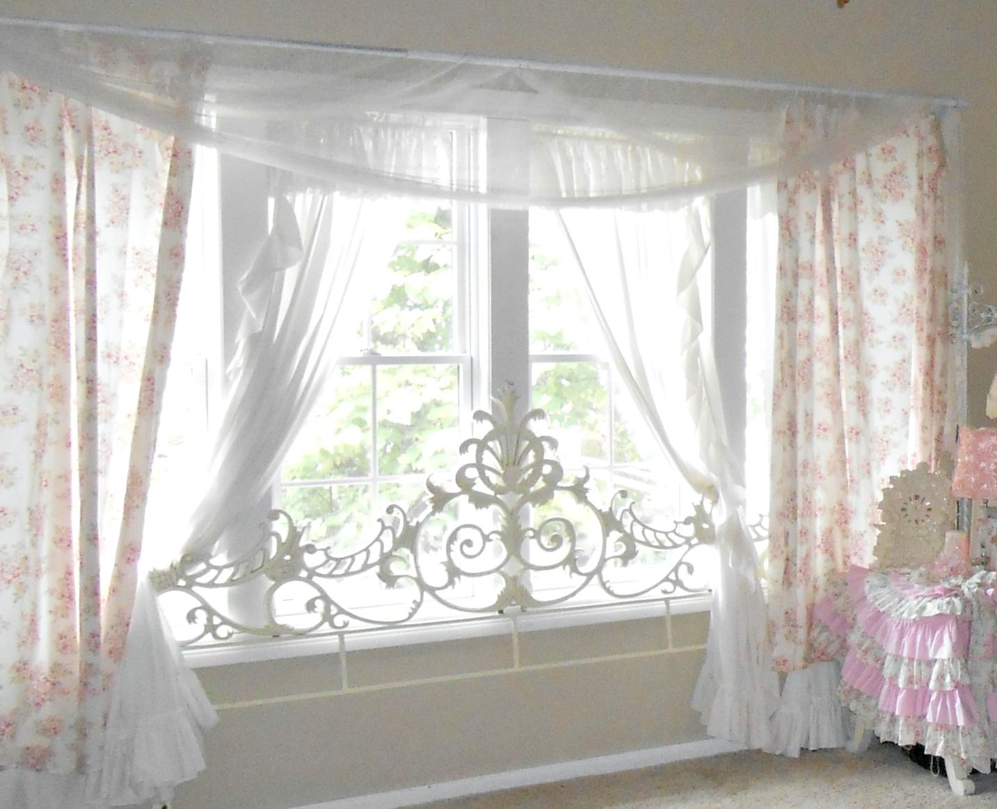 Simply Shabby Chic Sheets Shower Curtain Valance Curtains Designs Window Especially For The Smaller Living Room Size Ideas Of White
