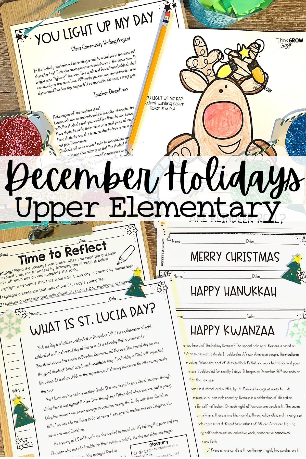 December Holidays   Around the World   Holiday activities for kids, December holidays around the ...