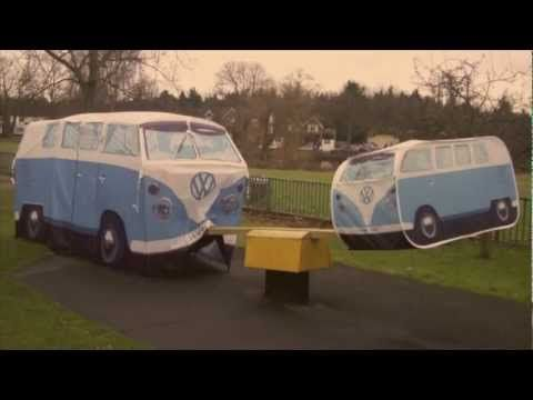 So we took our kids VW C&er Van Tent to the park to see what it made of the swings ) & Youu0027ve gotta love this! Want one! | Products I Love | Pinterest ...