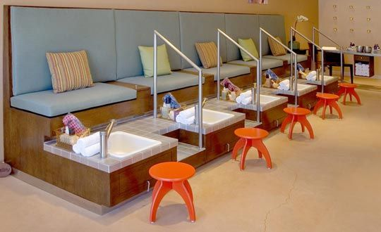 17 best images about nail salon decor on pinterest pedicures beauty salon interior and salon design - Nail Salon Interior Design Ideas