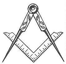 Square and compass | Masonic symbols, Compass art, Compass symbol