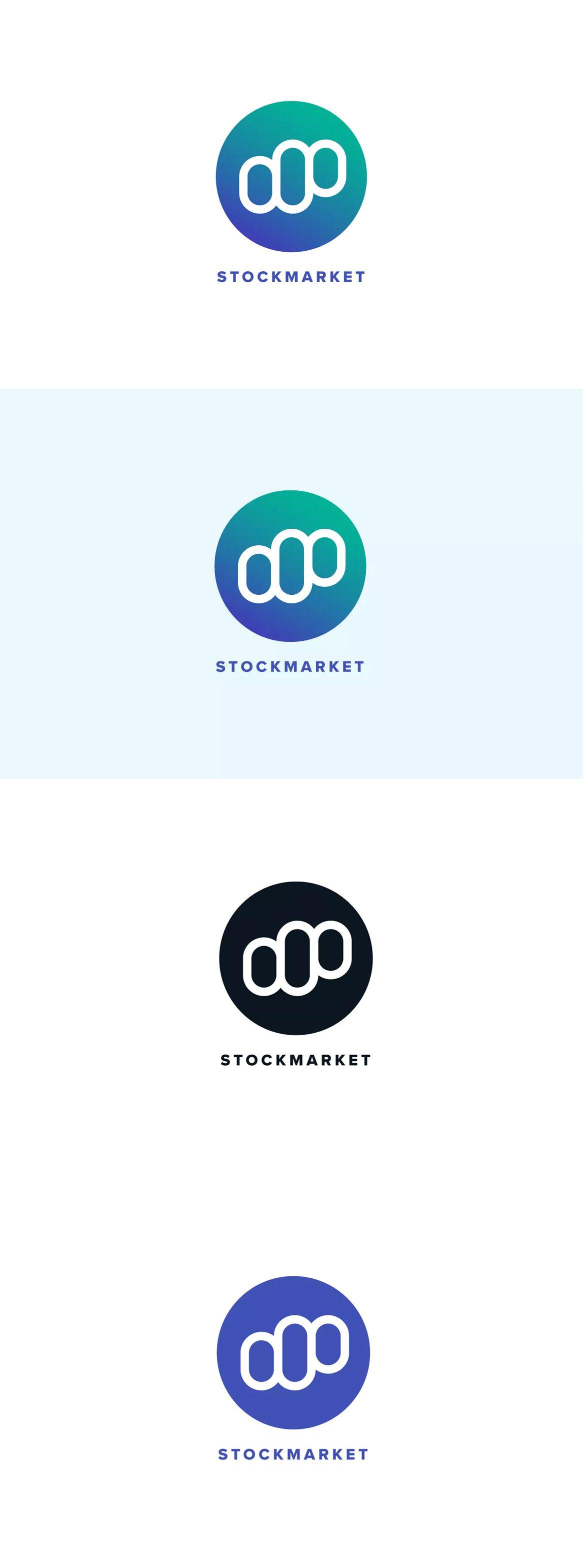 Stock Market Logo Template Ai Eps Logo Templates Templates Logos