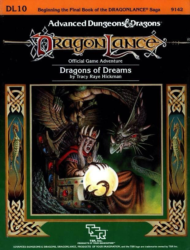 Adventures Shopping Classic Cover Art On The Dragonlance Add