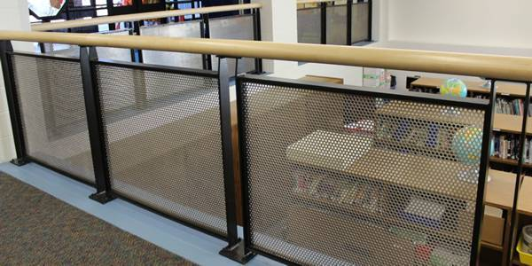 Best Perforated Metal Are Ideally Used As Balustrade Infill Panels Perforated Metal Perforated 400 x 300