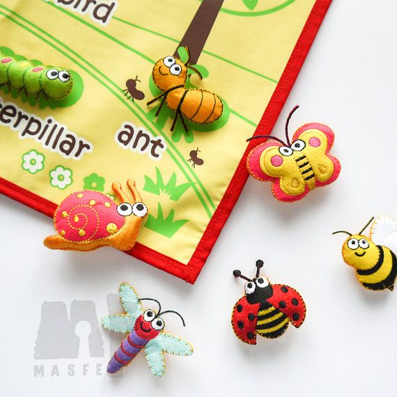 Back to school wall charthandmade insect chartinsect learning chart montessori material preschool by masfemy also christmas  for kids alphabets charts abc rh pinterest