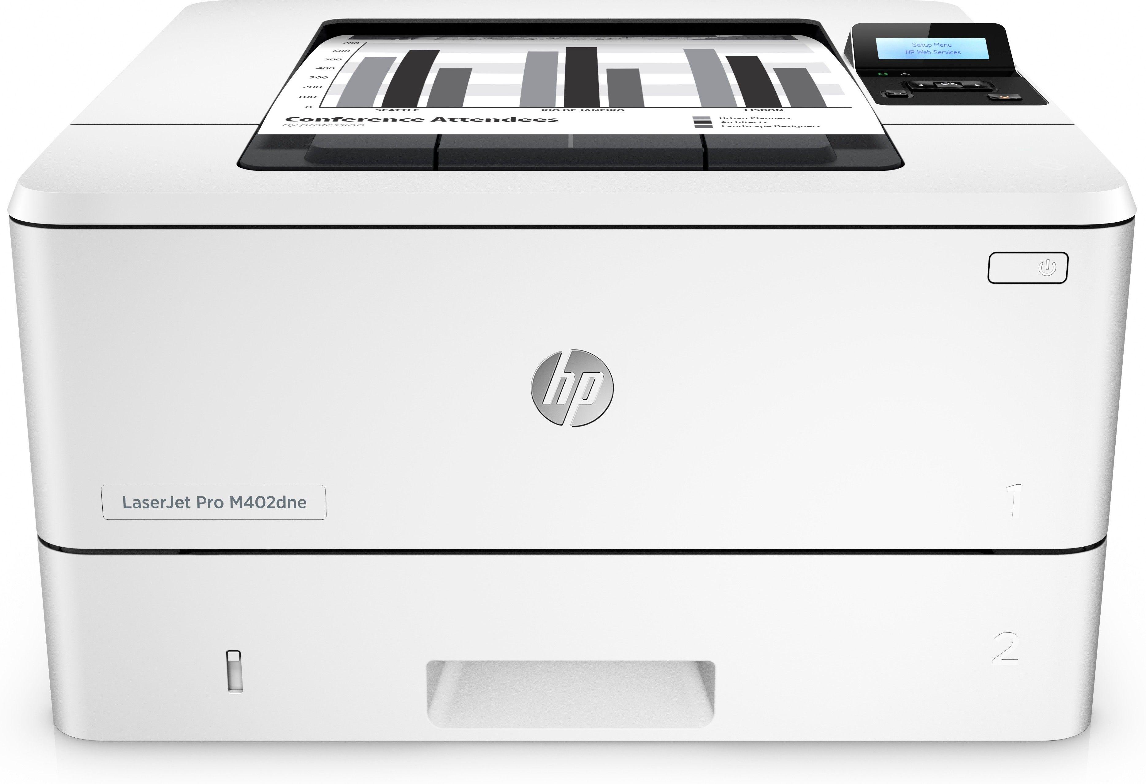 Hp Laserjet Pro M402dne 1200 X 1200dpi A4 199 00 Printers Hp Free Delivery All Over Cyprus Follow Us Laser Printer Black And White Printer Printer