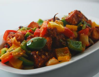 Jain paneer chilli highlights paneer which is a fresh cheese a jain paneer chilli highlights paneer which is a fresh cheese a very good source indian dishesindian forumfinder Images