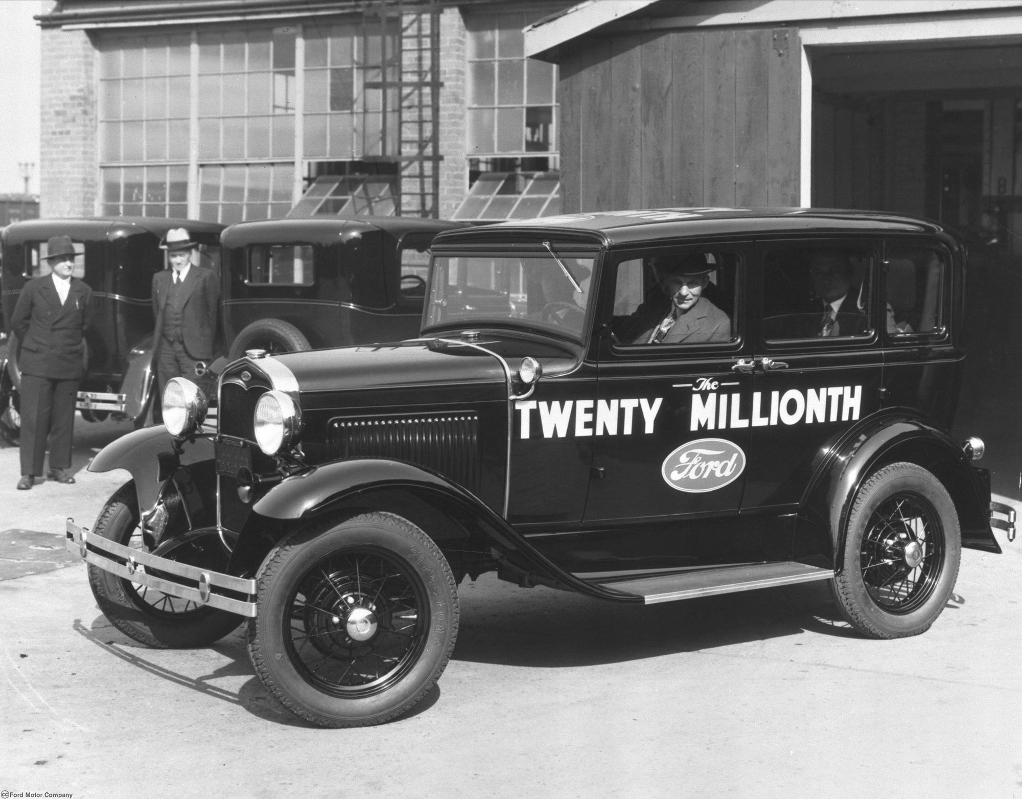 This Day in History, 1927: Ford reveals its Model A to an | Ford ...