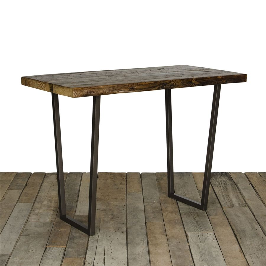 Brooklyn Bistro Table By Urban Wood Goods. Reclaimed ...