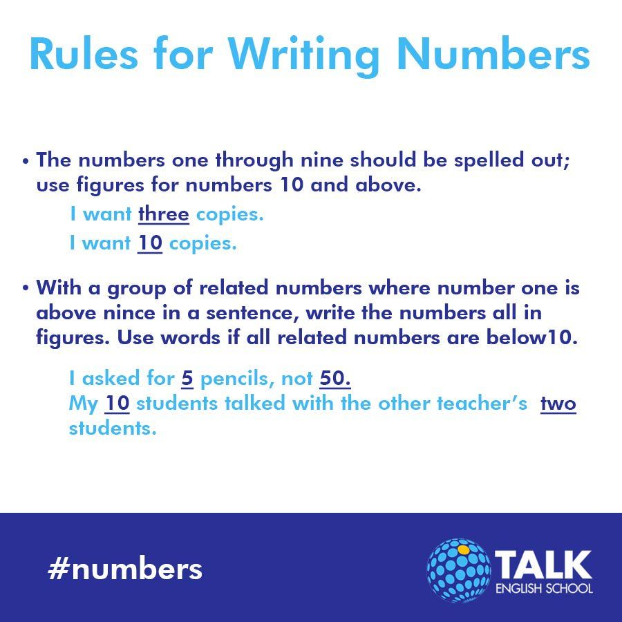 using numbers in essays You can speak to uk essays using the phone numbers on this page when writing numbers in your essay, the general rule is that whole numbers below 10 should always be spelled out you would assert that there are three cars or eight baseballs.