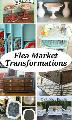 incredible flea market transformations diy crafts that i love rh pinterest com