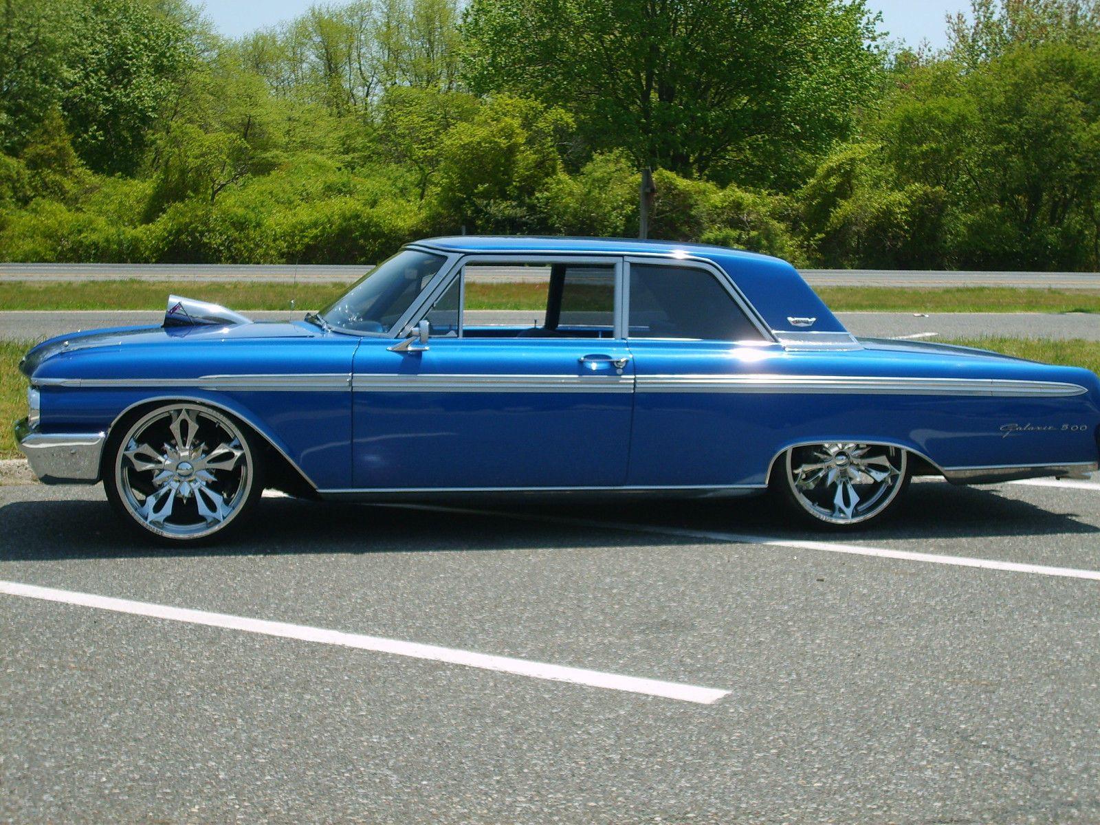 1962 Blue Bagged Ford Galaxie 500 Custom Lowrider