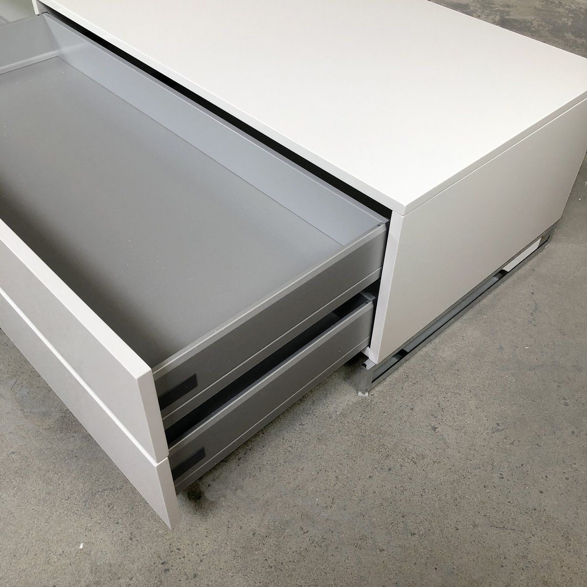 Athos Console Upscale Furniture Consignment Furniture White