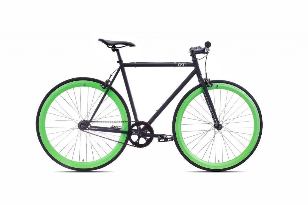 6KU Fixie Fixed Gear Single Speed Commuter Bike 700x25c 44/16 | 6KU ...
