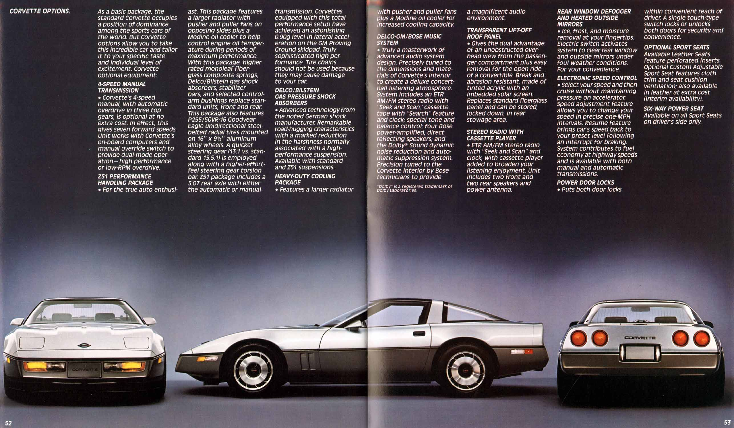 1985 C4 Corvette Image Gallery Pictures Automoviles