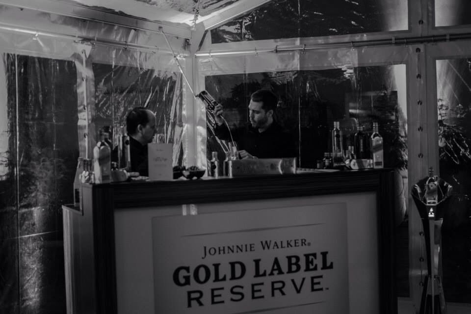 Johnnie Walker Gold Label Reserve Bar Berlinale Opening der Gala