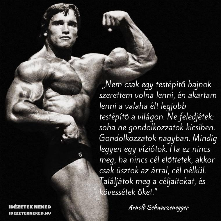 bodybuilding motivációs idézetek Pin by Idézetek Neked on Arnold Schwarzenegger idézetek