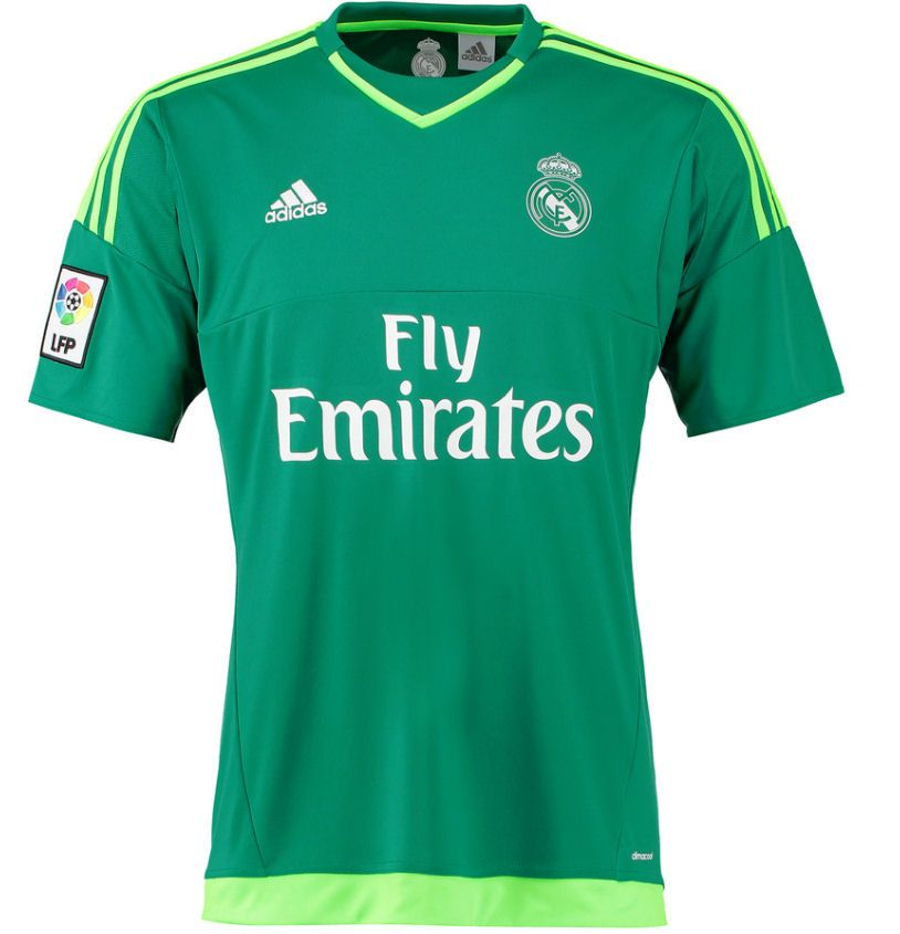 cca1ed338 Real Madrid 2015/2016 Away Goalkeeper Kit's -Available at uksoccershop.com