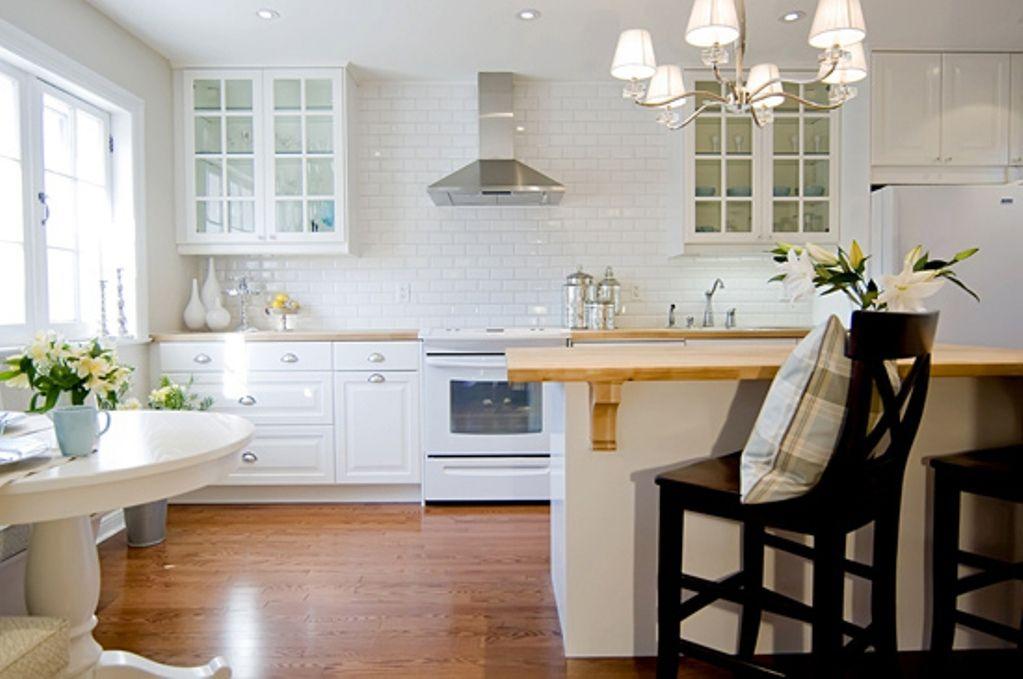 image of white kitchen backsplash ideas