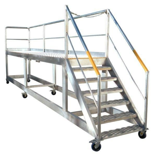 Safety Is One Of The Most Important Aspects Of Any Industry Without Safety Nothing Can Be Guaranteed A Ladder Platform Is A M Ladder Platform Work Platforms