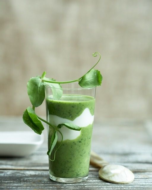 Ramp and Watercress Soup: Great recipes and more at http://www.sweetpaulmag.com !! @sweetpaul