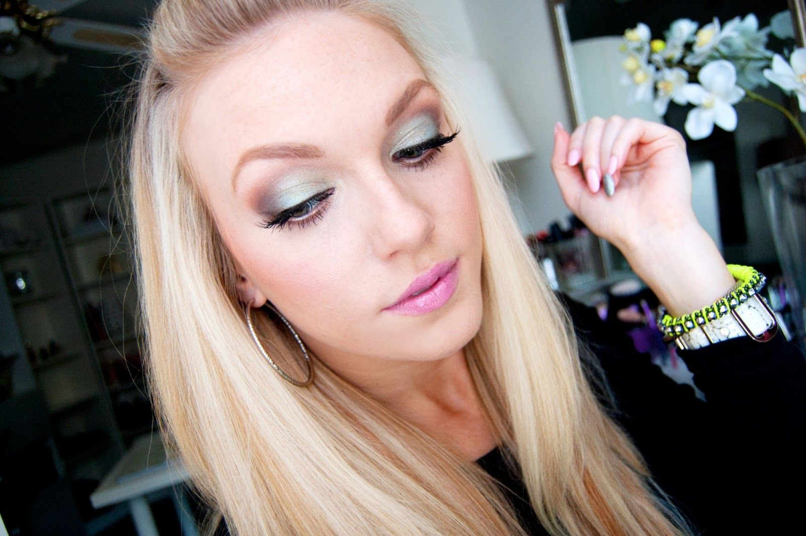 Makeup By Alli Nyx jumbo eye pencil, Maybelline eye