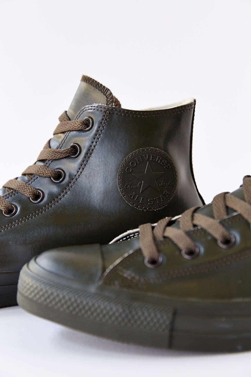 d0a376b0e7ee Size 8 Converse Chuck Taylor All Star Rubber High-Top Men s Sneaker