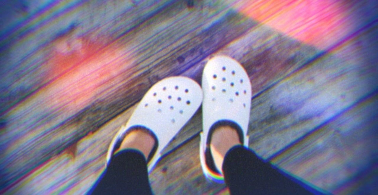 Crocs with fur•   Crocs with fur, Crocs