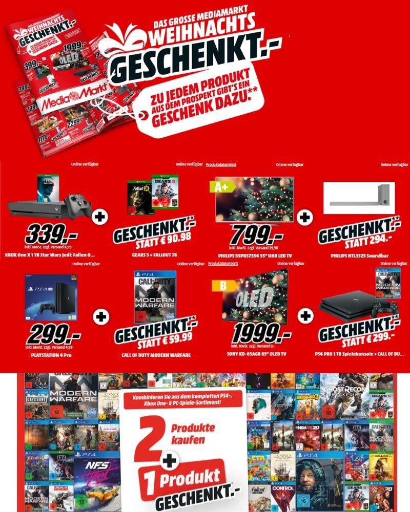 Das Grosse Mediamarkt Weihnachtsgeschenkt Geschenke Zu Jedem Produkt Aus Dem Prospekt Media Markt Schenken Produkt