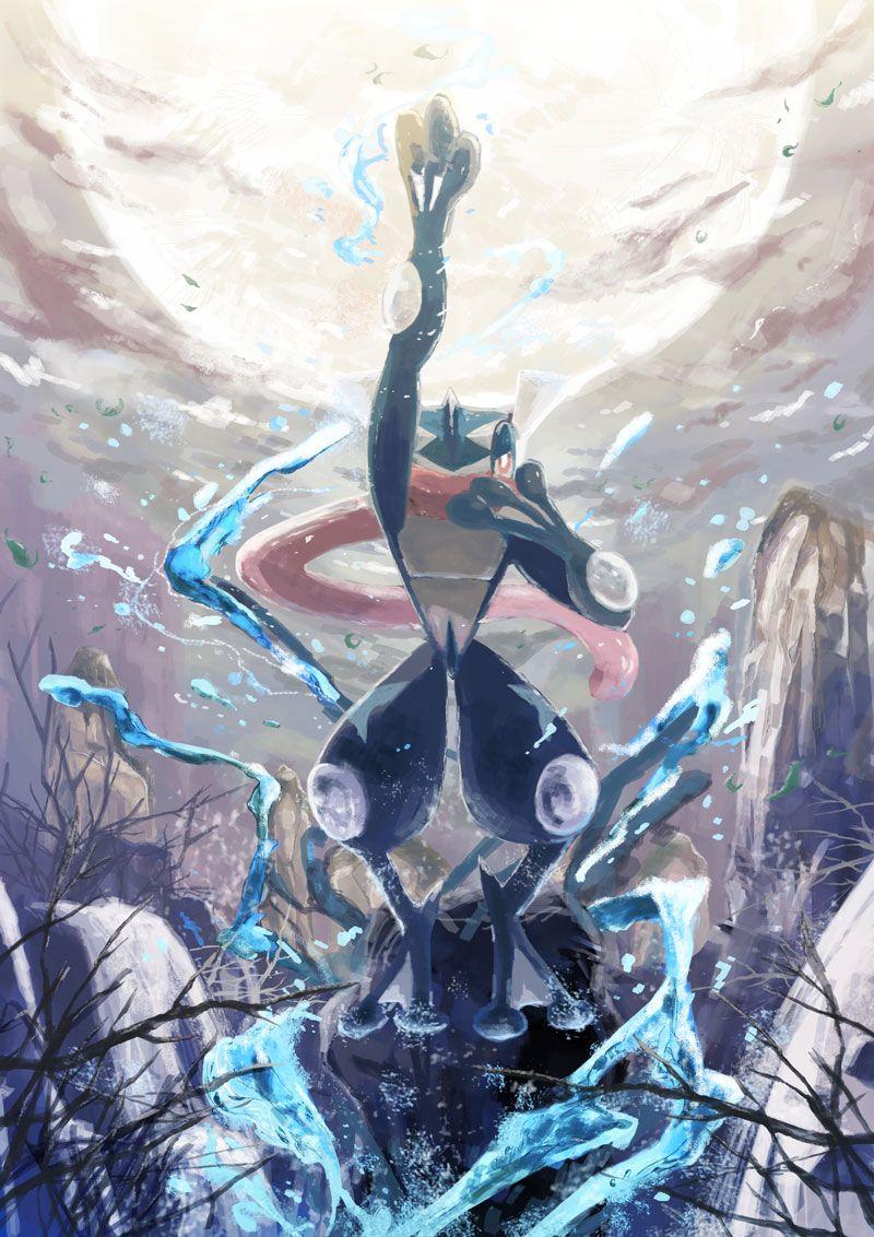 Pokemon Greninja. Pokemon. Pinterest Pokémon, Anime
