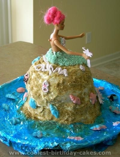 Amber wants a mermaid cake by elinor Decorated Cakes