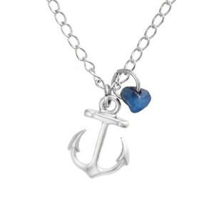 Silver #Anchor Necklace #nautical #jewelry