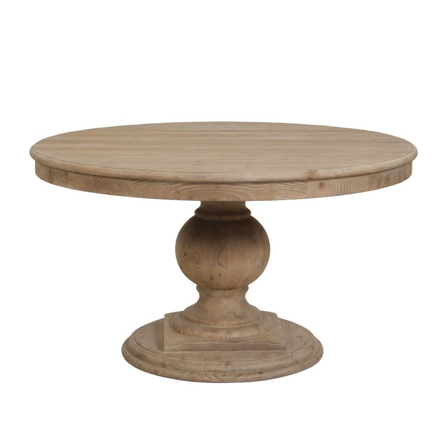 Table Ronde Massif Table Ronde 6 Couverts In 2019 Flower Market Table Dining