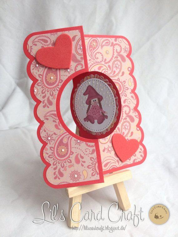 07076938e Christmas Card Handmade Card Flip Card by LilsCardCraft on Etsy