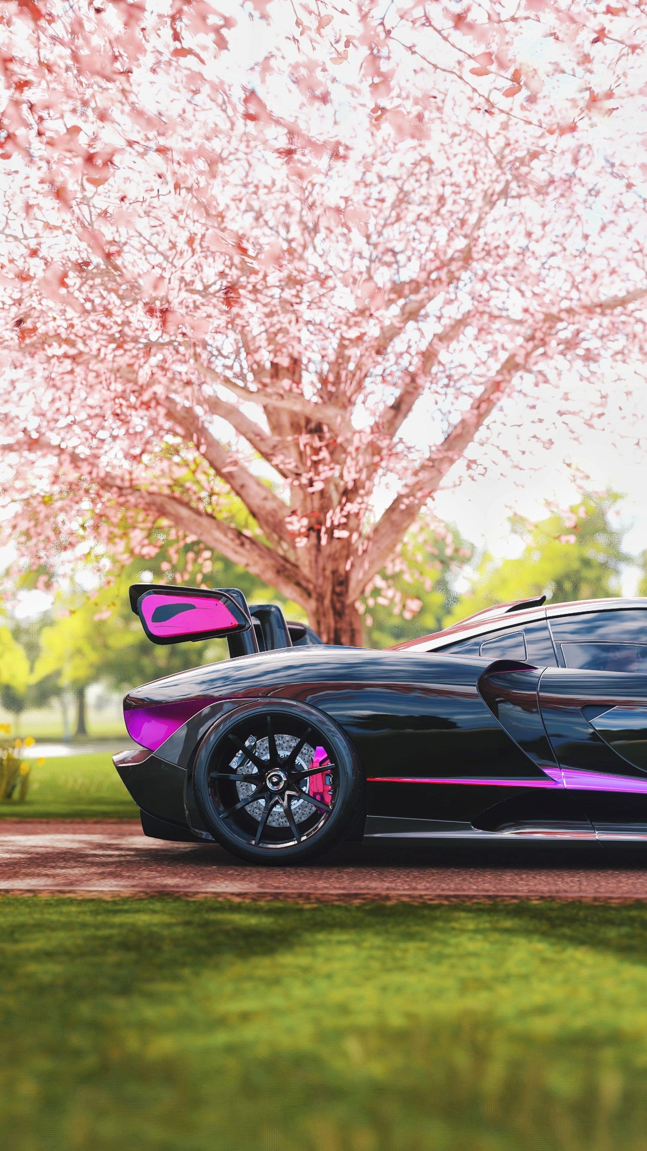 Mclaren Senna Mclaren Side View Sports Car Racing Sakura 4k