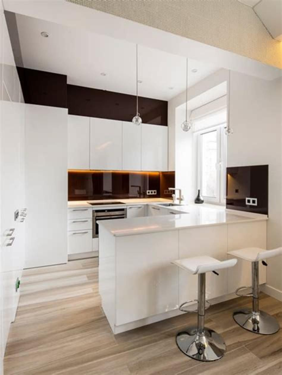 50 amazing modern kitchen design ideas for small spaces 2019 with images small modern on kitchen remodel ideas id=96230