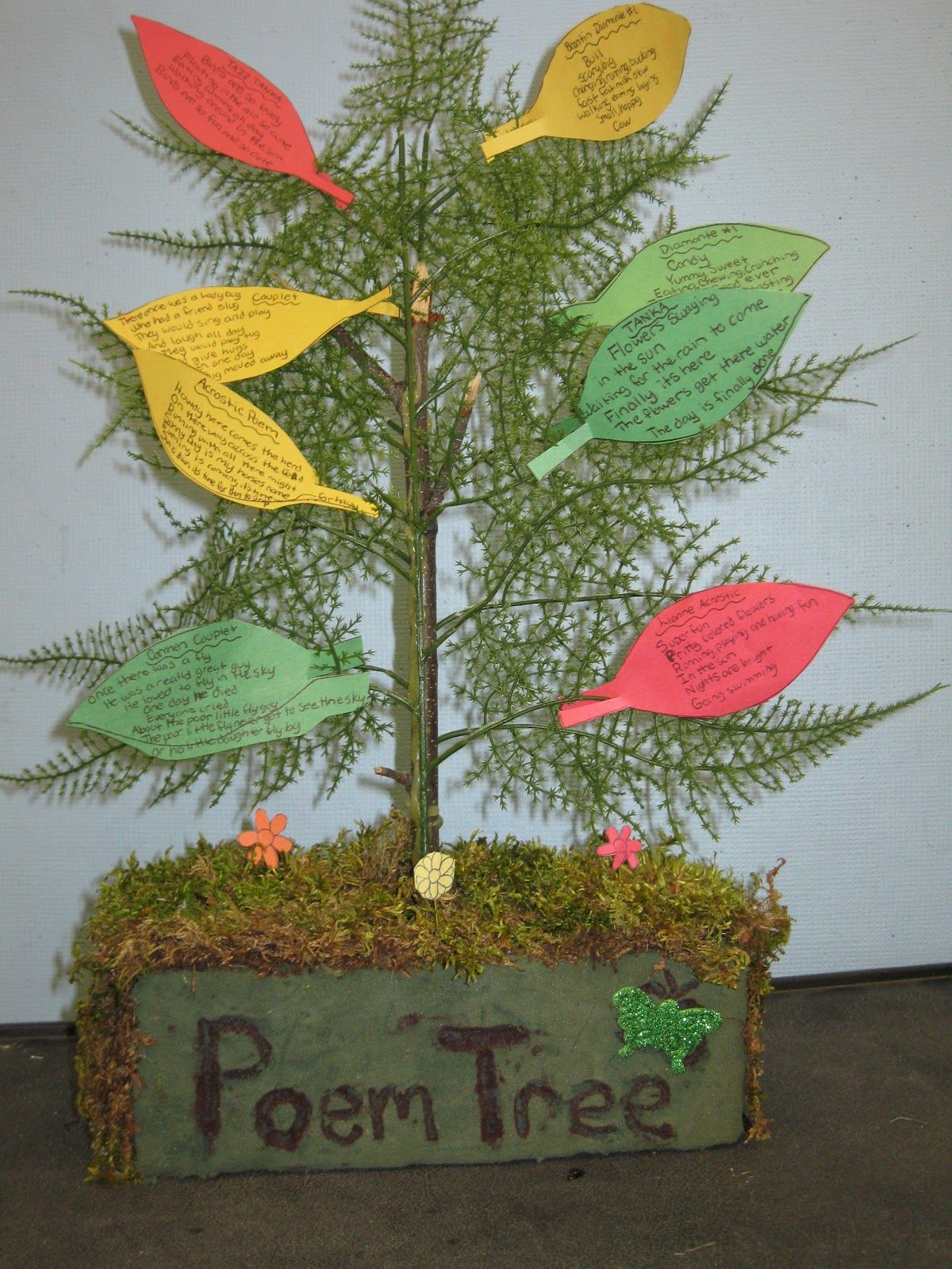 Poem Tree Post Includes Links And Ideas For Teaching Poetry To Children And A Couple Free