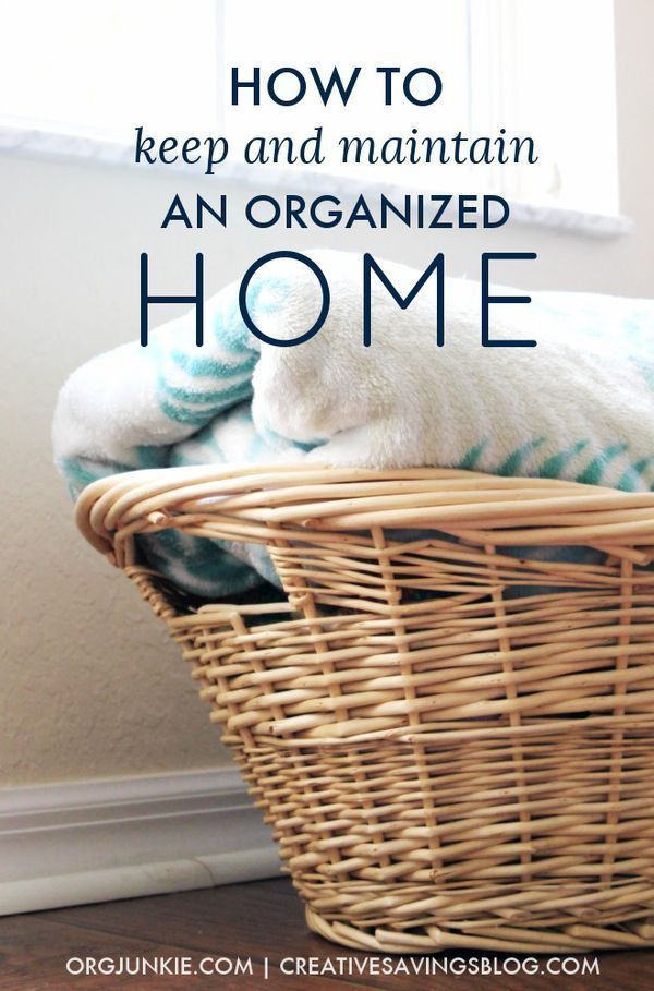 Organizing your home is hard enough but with just a little effort we can keep our space - Tips to keep your house more organized ...