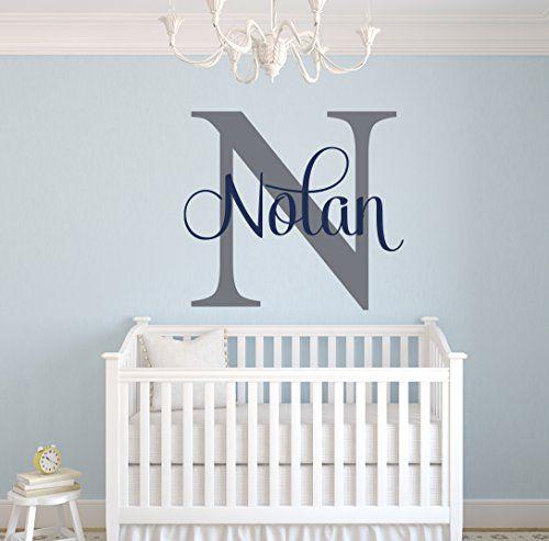 Best Custom Name Monogram Wall Decal Nursery Wall Decals Name Wall Decor Lovely Decals World Llc 640 x 480