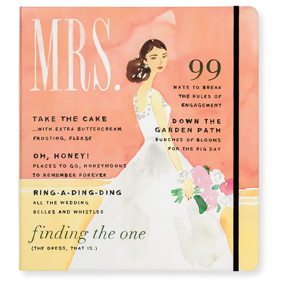 Kate spade bridal planner mrs magazine bridal planner