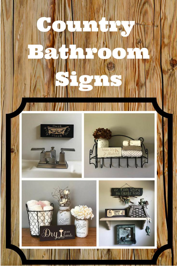 Country Bathroom Signs Relax Soak Unwind Rustic Home Decor Affiliate Bathroom Signs Home Decor Home