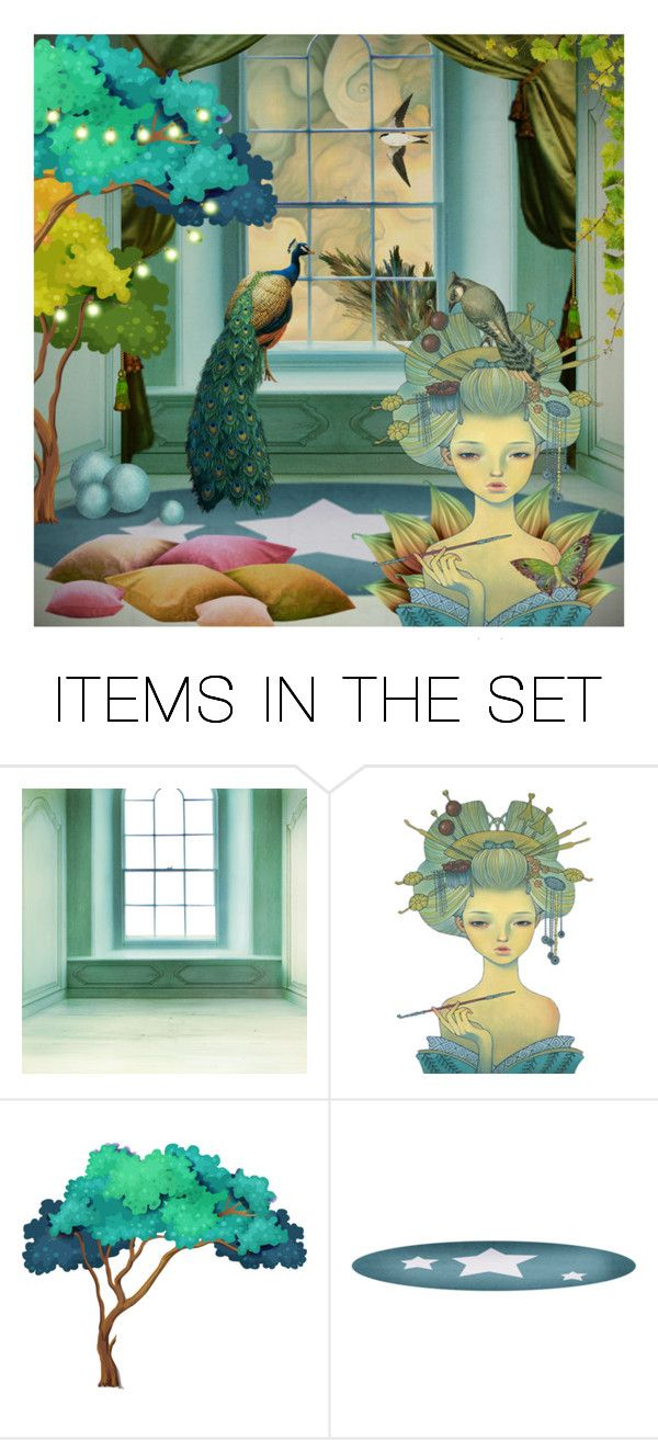 """""""Strange magic #9..."""" by k-schrager ❤ liked on Polyvore featuring art"""